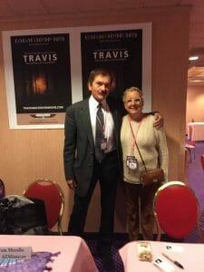 Nancy with Travis Walton