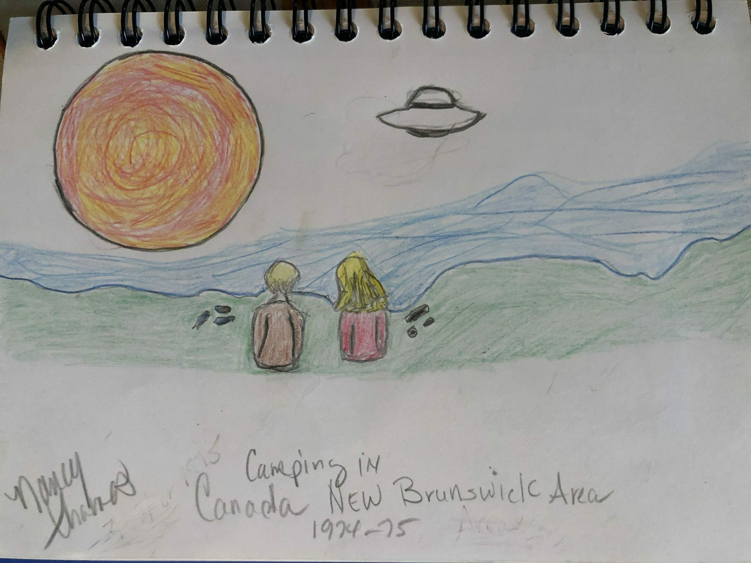 My UFO encounter in Canada