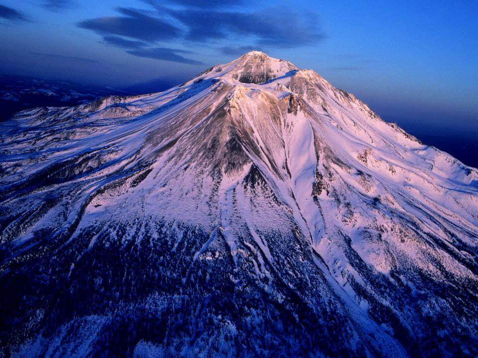 Crown Chakra ~ Mt Shasta, California