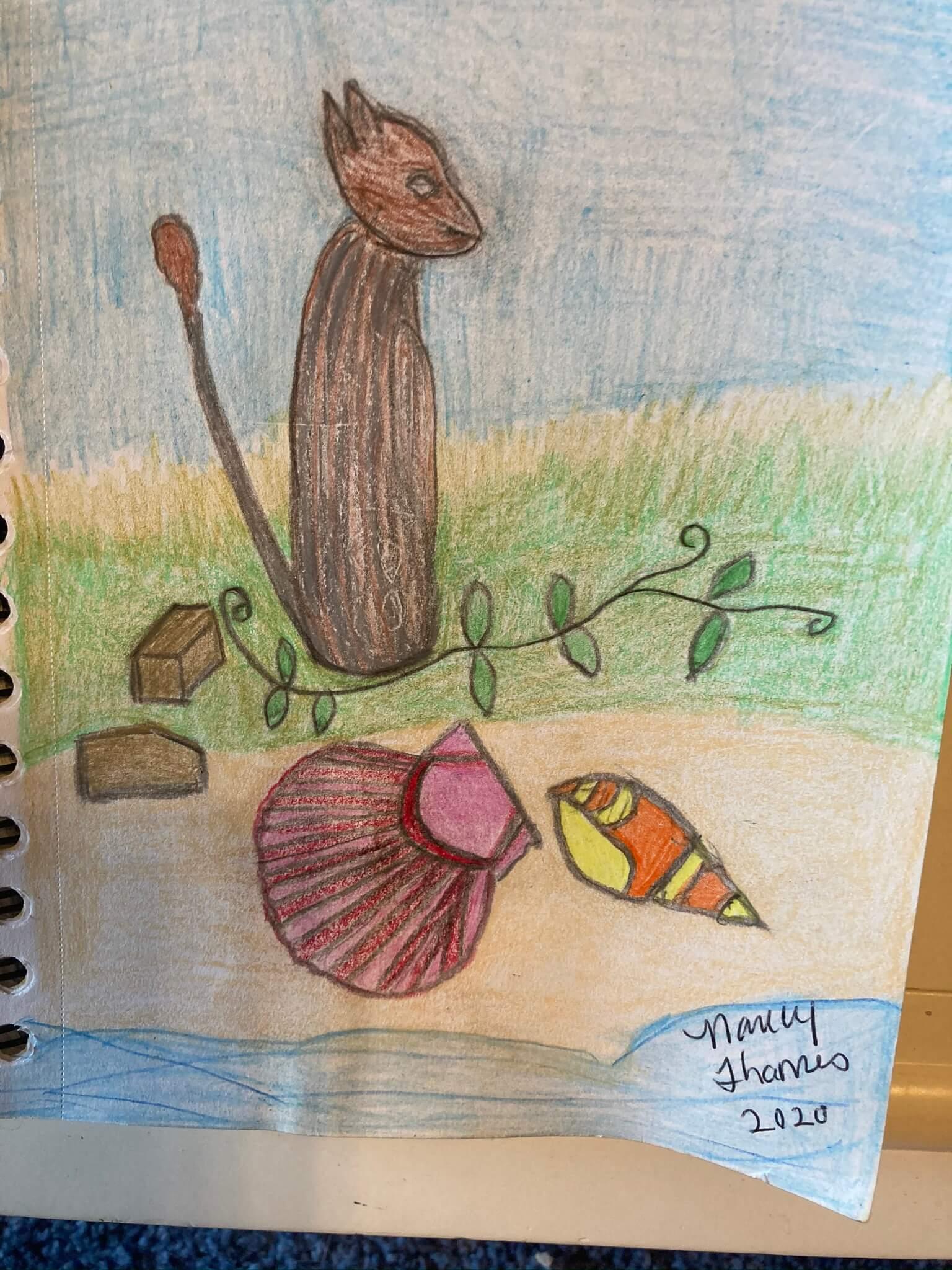 My Drawing of A Alien Species