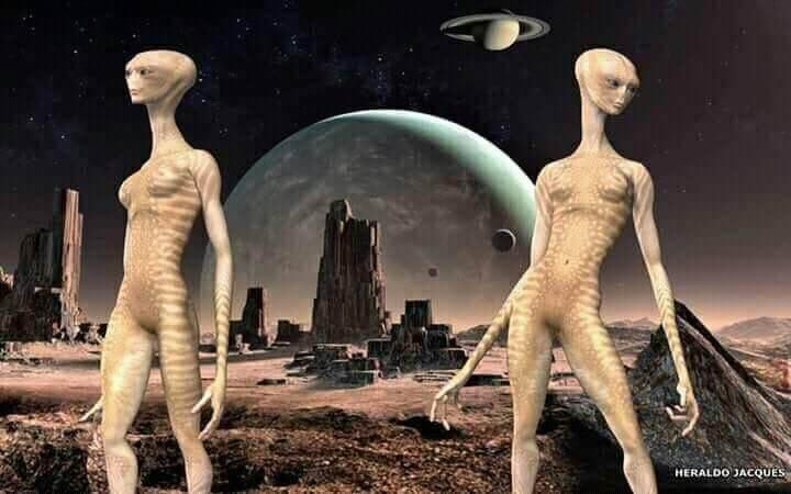 Mars aliens